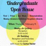 Undergrad event flyer