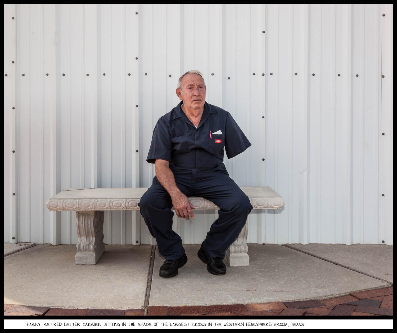 photo of retired letter carrier