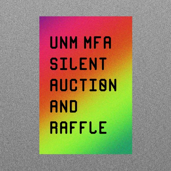 UNM MFA Silent Auction and Raffle