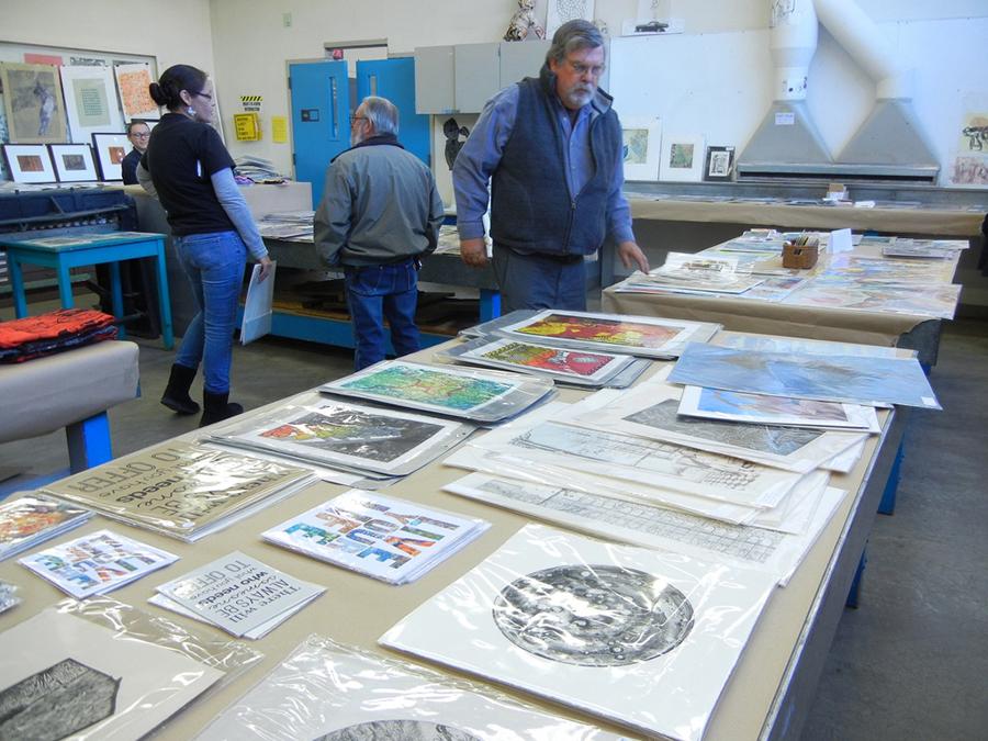 Printmaking Area Annual Print Sale, 2019